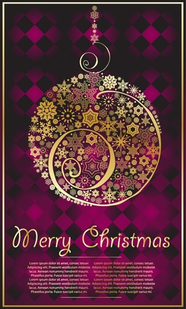xmas  abstract background Vector