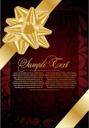 xmas red  celebrate background Vector
