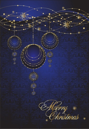 Merry Christmas Elegant background Illustration