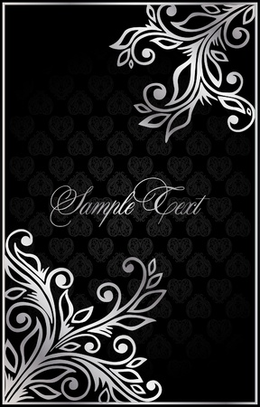 baroque ornament: background  for decoration