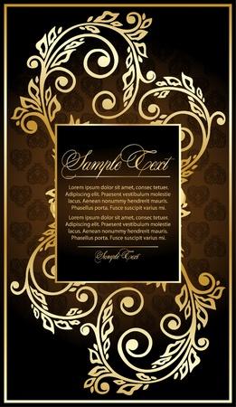 elegance floral frame Stock Vector - 10464547