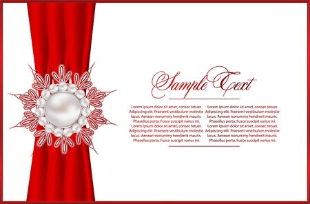 invitation card: Elegant  background