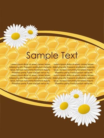 Honeycomb.Seamless vector illustration. Vector