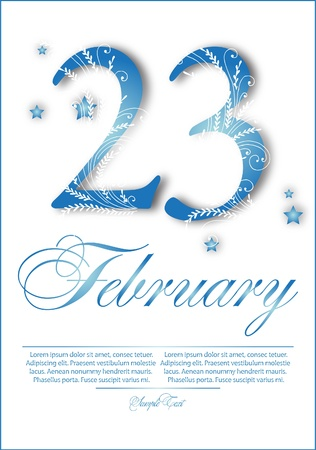 foto: Congratulations to 23 february
