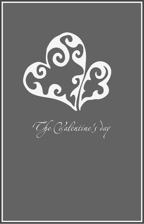 valentine simple illustration Vector