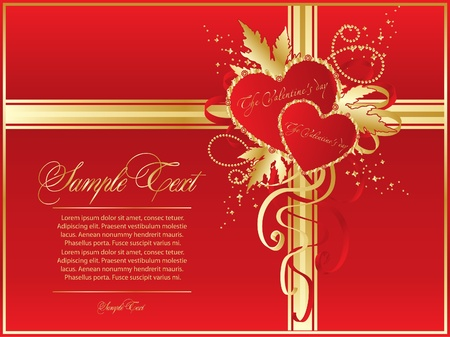 valentine red for design Vector