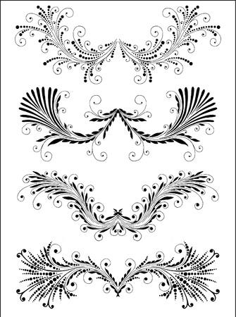 Vectorized Scroll Design. Stock Vector - 10526771