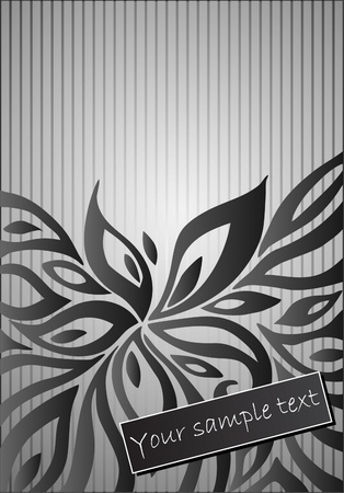 tileable: abstract floral  background Illustration