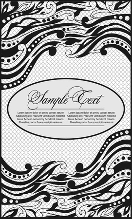 art lace background Vector