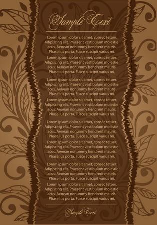 brown vintage background Vector