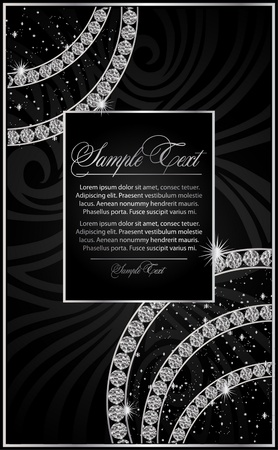 diamond background: illustration with the Diamond