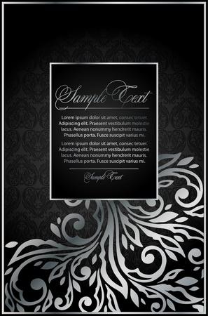 silver  background for design