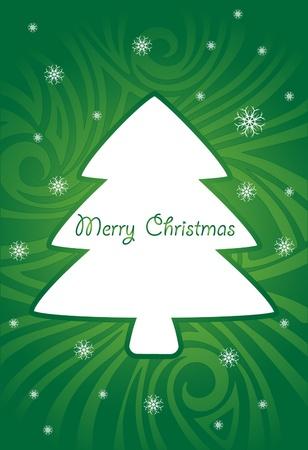クリスマス抽象的なグリーティング カード 写真素材 - 10819572