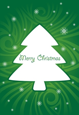 xmas abstract  greeting  card Vector