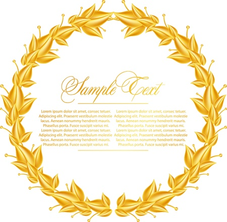 Laurel Wreath Stock Vector - 11120177
