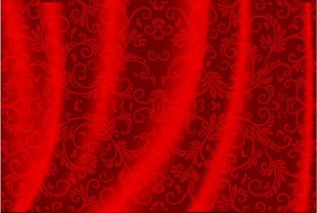 tuck: Red Luxury Background Illustration