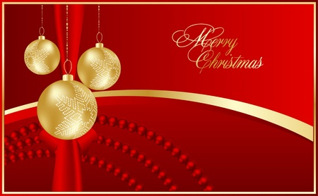 clip art draw: abstract christmas background