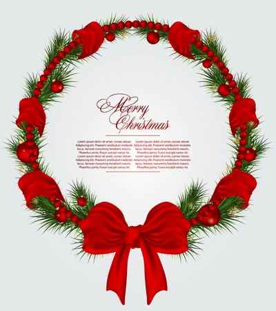 Christmas  card background Stock Vector - 11120288