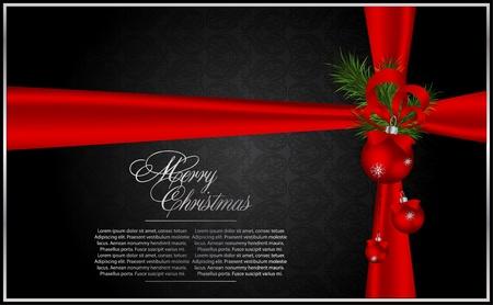 hand bell: Christmas & New year holidays vector illustration Illustration