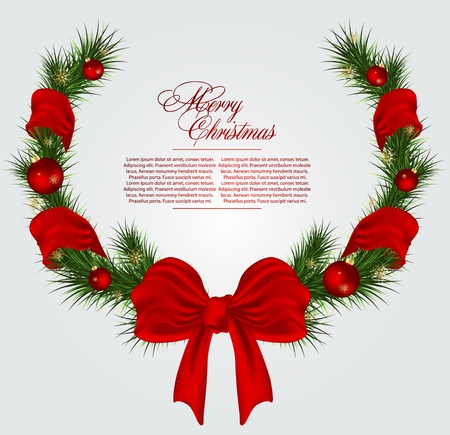 Christmas card background Stock Vector - 11120265