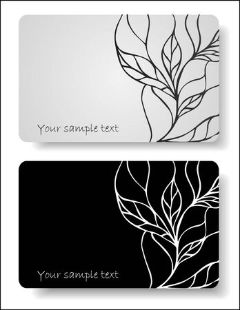 abstract cards Vector