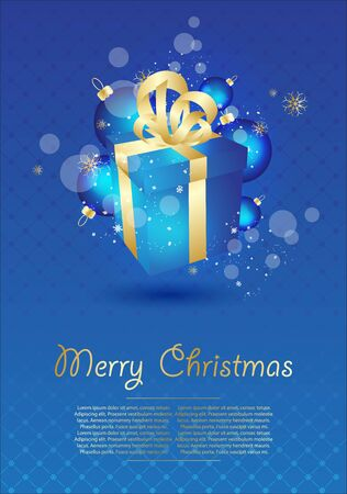 Christmas illustration. Stock Vector - 14221453