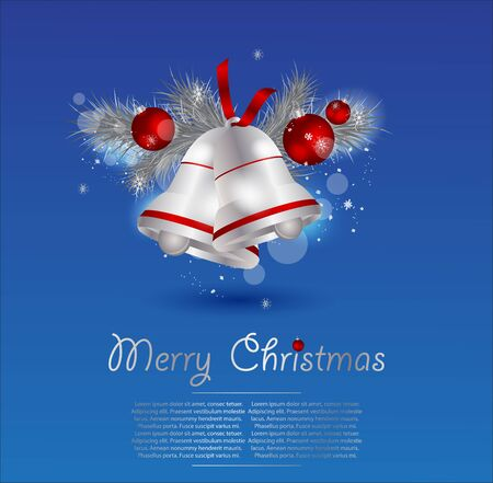 Elegant Christmas Background. Vector