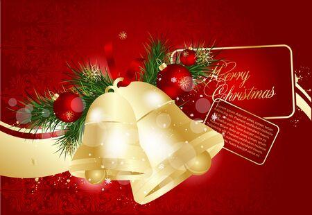 Vector Christmas greeting card Vector