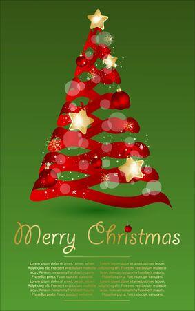 Christmas  vector illustration. Stock Vector - 16454888