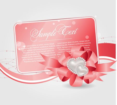 magenta decor: cards templates with heart