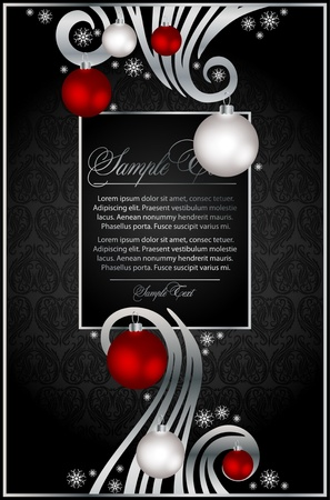 xmas background for design Illustration