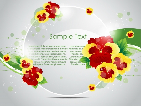artificial flowers: nature  background