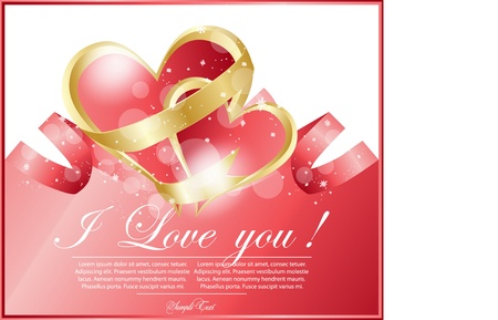 abstract frame with heart Stock Vector - 17354332