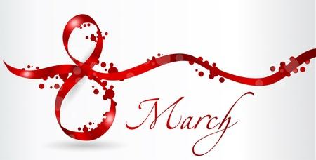 mujer feliz fondo blanco: 08 de marzo