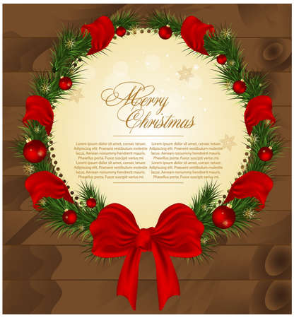 Christmas vector illustration. Stock Vector - 24533451