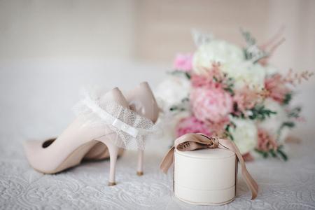 Hochzeitsdetails Standard-Bild