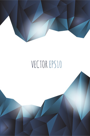 Abstract Lowpoly vector background. Eps 10 vector illustration.