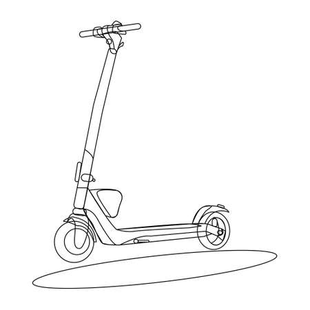 scooter. means of transportation. innovative.