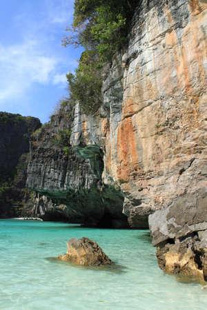 phi phi island: Maya Bay, Phi Phi island, Thailand