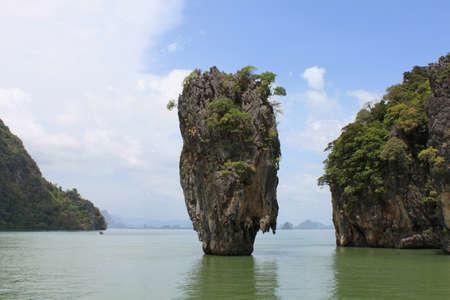 James Bond island, Phang Nga bay, Thailand photo