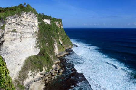Giant cliffs in Bali