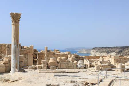 Kourion archaeological site in Cyprus
