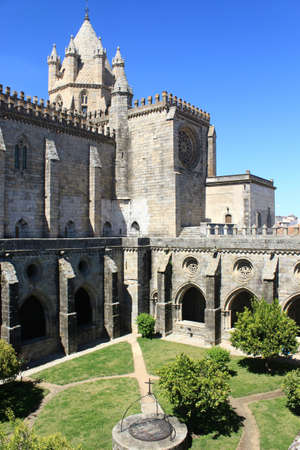 Cathedral of Evora, Portugal Stock Photo