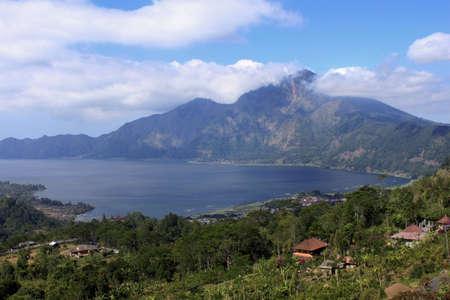 View of Kintamani, Bali Stock Photo