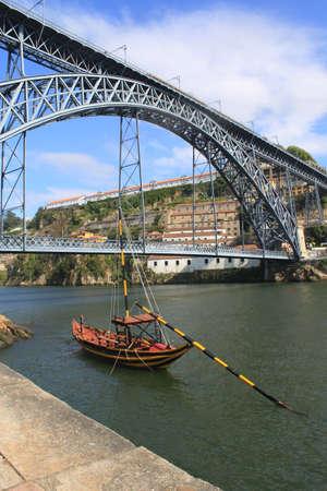 Dom Luis I  Bridge in Porto, Portugal