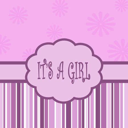 it s a girl: It s a girl card