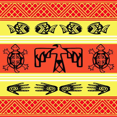 Native American design wallpaper  Stock Photo