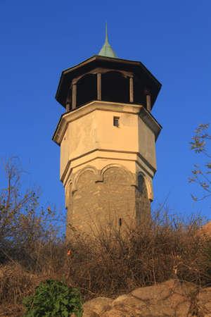 Clock Tower in Plovdiv, Bulgaria