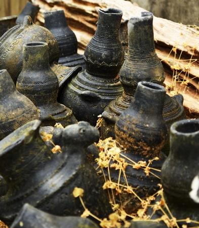 ollas de barro: ollas de arcilla tradicionales