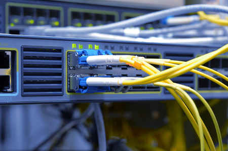 optic fiber Standard-Bild